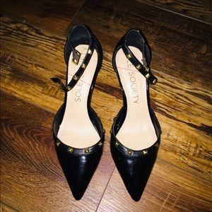 Julieanne Hough for Sole Society Anneke Black Heel